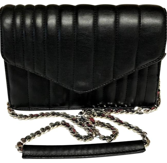 Item - Crossbody Rtf Quilted Black Leather Messenger Bag