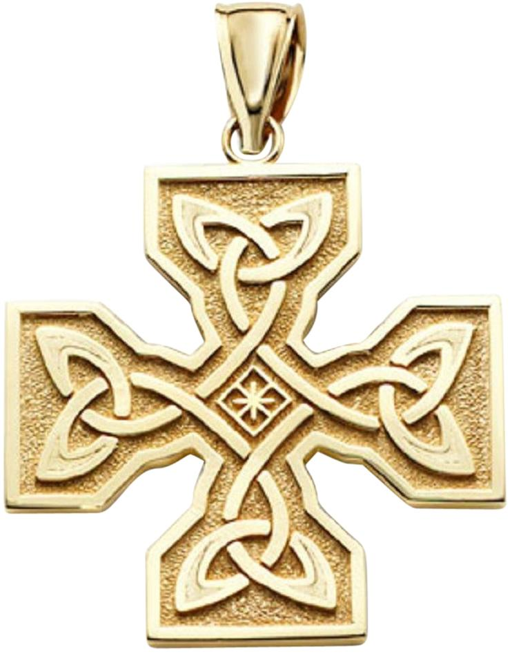 Bishilin Stainless Steel Fashion Men Women Necklace Pendant Silver Black Cross Link 22inch