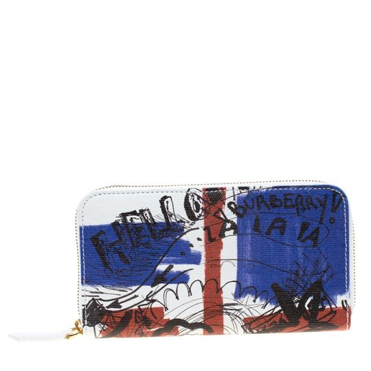 Preload https://img-static.tradesy.com/item/25373022/burberry-white-doodle-print-coated-canvas-zip-around-wallet-0-0-540-540.jpg