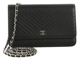 Chanel Chanel Wallet on Chain Chevron Caviar
