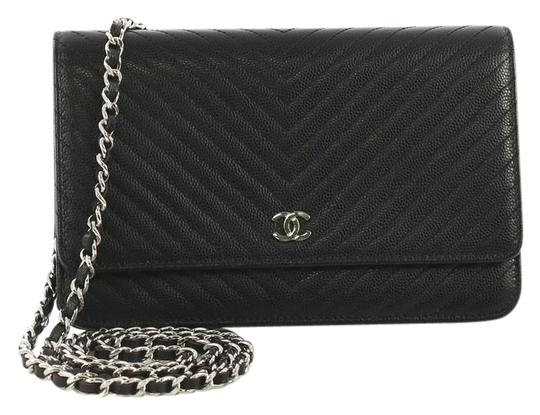 Chanel Chanel Wallet on Chain Chevron Caviar Image 0