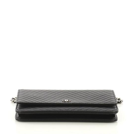 Chanel Chanel Wallet on Chain Chevron Caviar Image 4