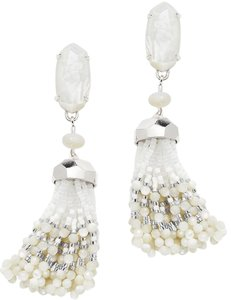 Kendra Scott Women's Kendra Scott White Dove Tassel Earrings
