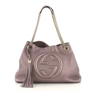 a405220644e2 Purple Leather Gucci Bags - 70% - 90% off at Tradesy