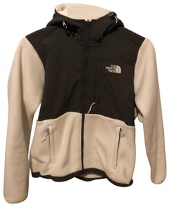 The North Face white and gray Jacket