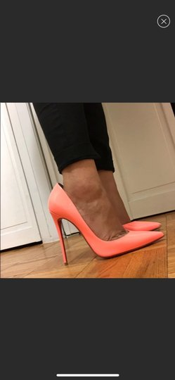 Christian Louboutin orange Pumps Image 1