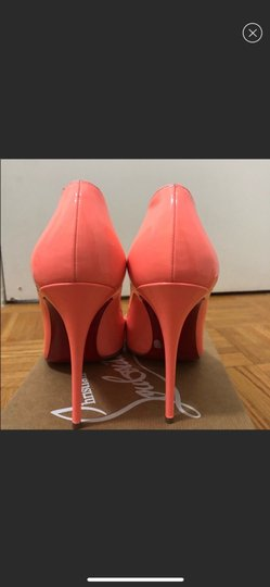 Christian Louboutin orange Pumps Image 3