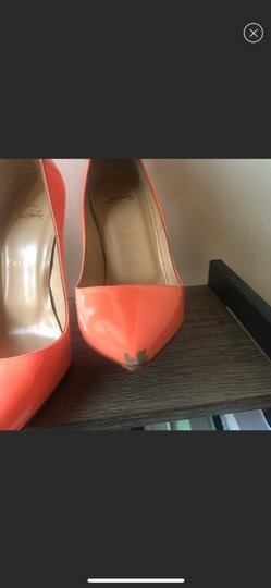 Christian Louboutin orange Pumps Image 5