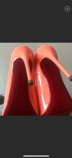 Christian Louboutin orange Pumps Image 7