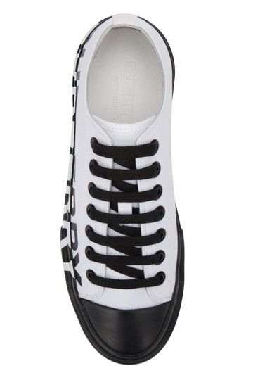 Burberry Sneakers Sandals Black & White Athletic Image 2