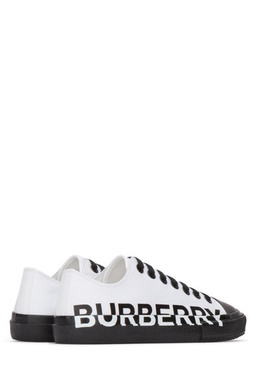 Burberry Sneakers Sandals Black & White Athletic Image 3