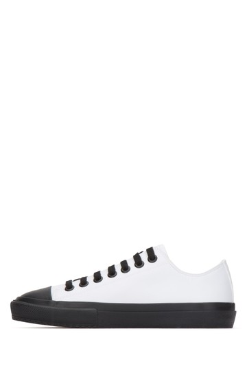 Burberry Sneakers Sandals Black & White Athletic Image 4