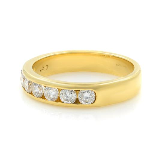 Gavriel's Jewelry Channel Set Solid Gold Round Diamond Wedding Anniversary Band Ring Image 3