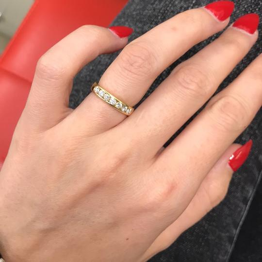 Gavriel's Jewelry Channel Set Solid Gold Round Diamond Wedding Anniversary Band Ring Image 6