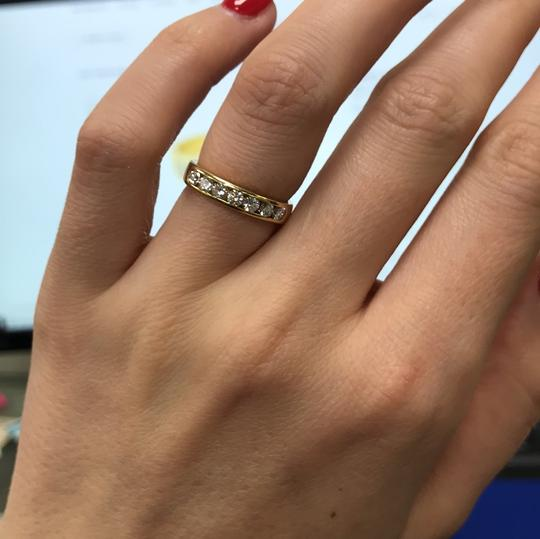 Gavriel's Jewelry Channel Set Solid Gold Round Diamond Wedding Anniversary Band Ring Image 7