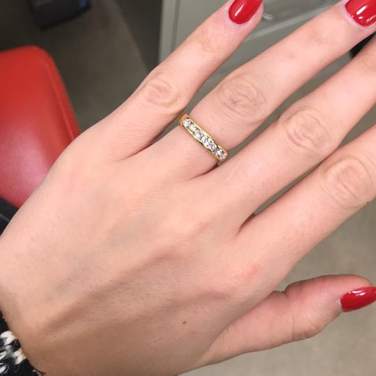 Gavriel's Jewelry Channel Set Solid Gold Round Diamond Wedding Anniversary Band Ring Image 8