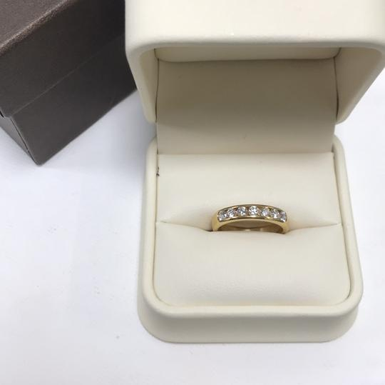 Gavriel's Jewelry Channel Set Solid Gold Round Diamond Wedding Anniversary Band Ring Image 9