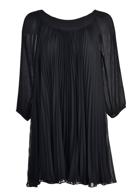 Preload https://img-static.tradesy.com/item/25373873/erin-fetherston-black-women-s-silk-blend-pleated-s107-short-cocktail-dress-size-4-s-0-0-650-650.jpg