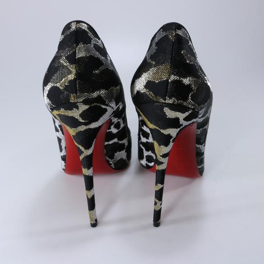Christian Louboutin So Kate Animal Print Metallic Lurex Multicolor Pumps Image 4