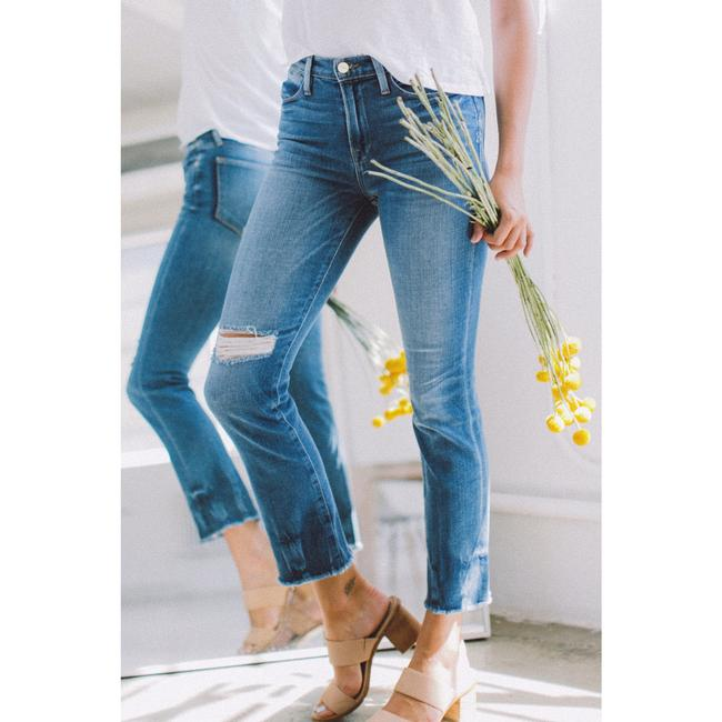 FRAME Straight Leg Jeans-Distressed Image 2
