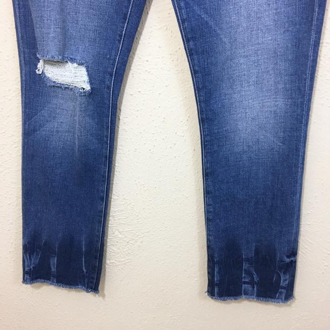 FRAME Straight Leg Jeans-Distressed Image 3