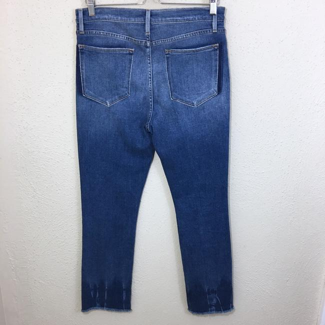 FRAME Straight Leg Jeans-Distressed Image 6