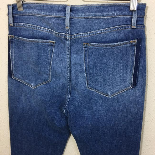 FRAME Straight Leg Jeans-Distressed Image 7