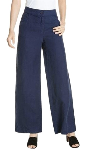 Preload https://img-static.tradesy.com/item/25373932/eileen-fisher-blue-midnight-pants-size-12-l-32-33-0-1-650-650.jpg