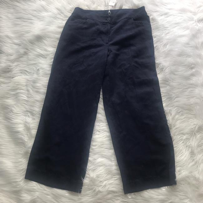 Eileen Fisher Wide Leg Pants Blue Image 1