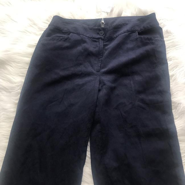 Eileen Fisher Wide Leg Pants Blue Image 3