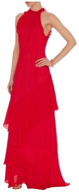 Preload https://img-static.tradesy.com/item/25373955/intermix-red-stacie-ruffle-maxi-long-formal-dress-size-12-l-0-1-650-650.jpg