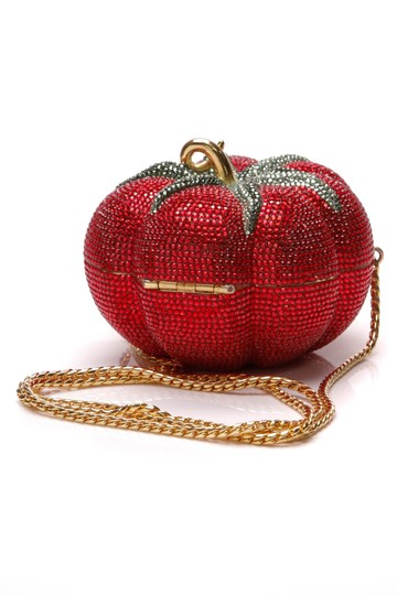 Judith Leiber Red Clutch Image 2