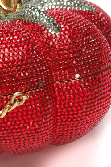 Judith Leiber Red Clutch Image 5