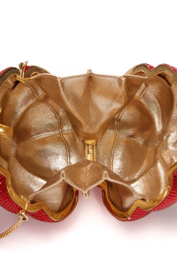 Judith Leiber Red Clutch Image 7