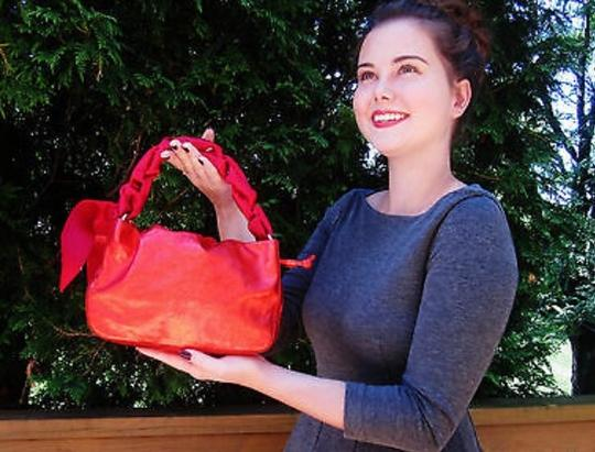 Kate Spade Tote in Red Image 5