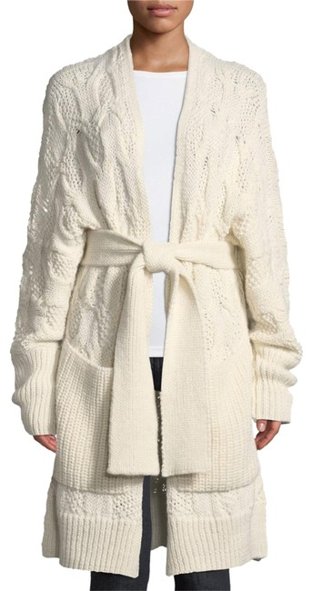 Preload https://img-static.tradesy.com/item/25374365/joie-white-omeed-belted-cable-knit-wool-blend-porcelain-cardigan-size-00-xxs-0-1-650-650.jpg