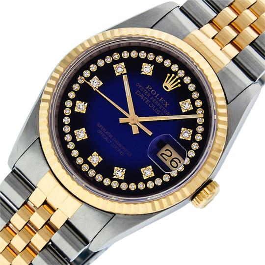 Preload https://img-static.tradesy.com/item/25374392/rolex-blue-vignette-mens-datejust-ssyellow-gold-with-string-diamond-dial-watch-0-1-540-540.jpg