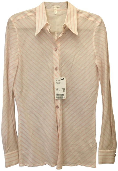Preload https://img-static.tradesy.com/item/25374413/escada-white-and-pink-blouse-size-6-s-0-1-650-650.jpg