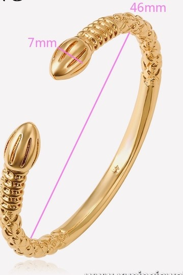 Muffie's Closet One Pair West Indian 18k gold overlay. The base is copper. They will not tarnish. Image 1