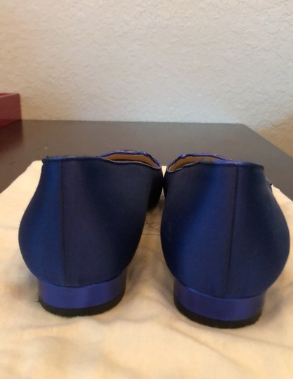 Charlotte Olympia Blue Flats Image 4