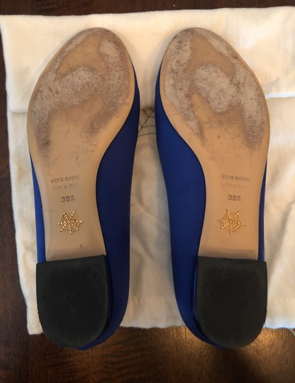 Charlotte Olympia Blue Flats Image 5