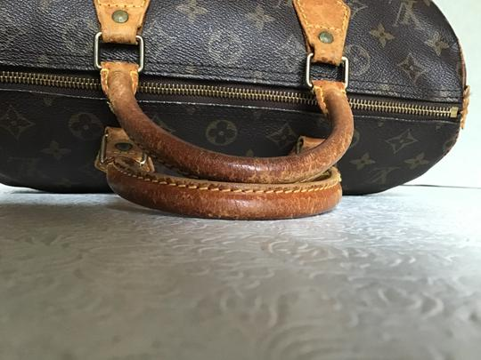 Louis Vuitton Speedy Monogram Lock & Key Dust Vintage Satchel in Brown Image 2