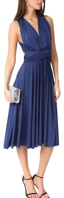 Preload https://img-static.tradesy.com/item/25374522/twobirds-navy-convertible-bridesmaid-mid-length-cocktail-dress-size-os-one-size-0-1-650-650.jpg