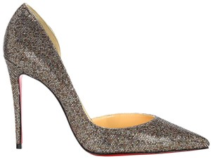 Christian Louboutin Iriza Classic Classic Sparkle Brown Pumps
