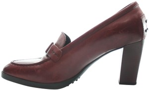 Tod's Red Pumps