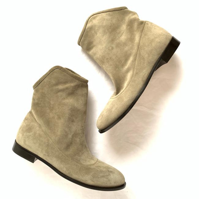 Item - Gray Suede Ankle Boots/Booties Size EU 35.5 (Approx. US 5.5) Regular (M, B)