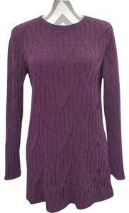 J. Jill Chenille Cable Knit Sweater