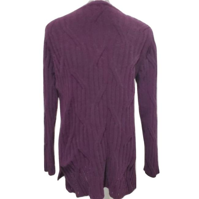 J. Jill Chenille Cable Knit Sweater Image 2