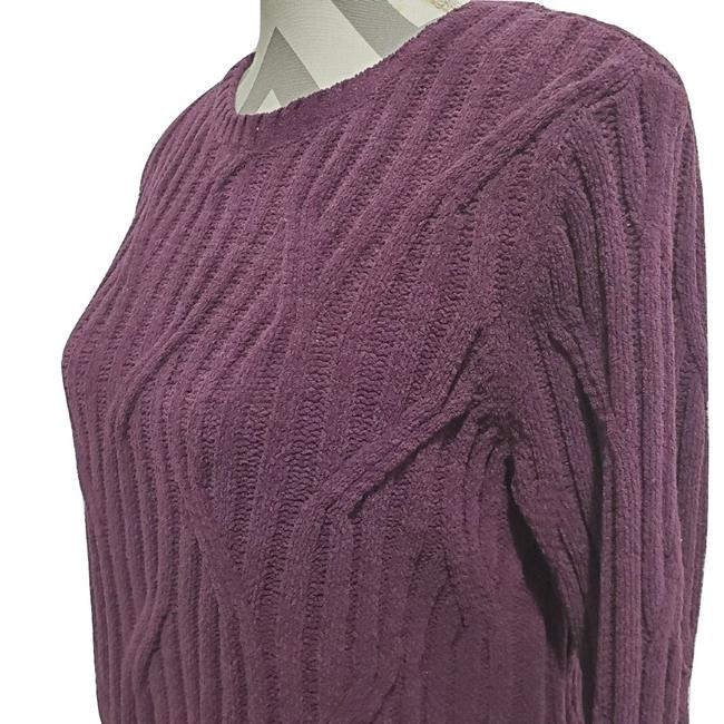 J. Jill Chenille Cable Knit Sweater Image 3