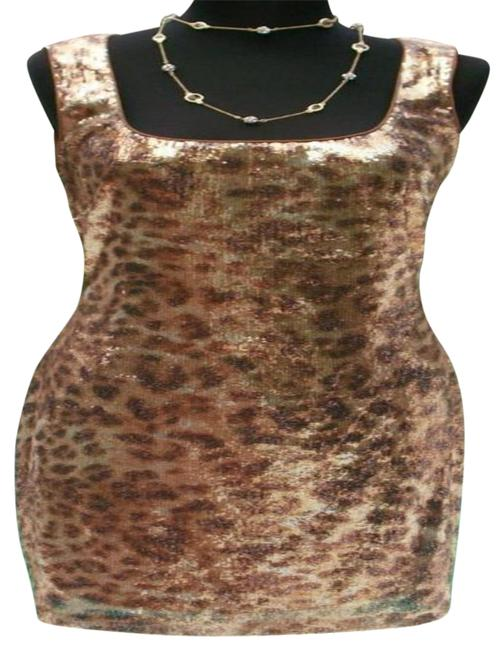 Preload https://img-static.tradesy.com/item/25374624/cache-gold-multi-sequin-encrusted-open-back-event-new-animal-print-46-s-short-cocktail-dress-size-6-0-1-650-650.jpg
